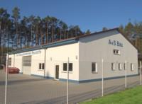 Baustoffhalle und Firmengebäude in Pleinfeld